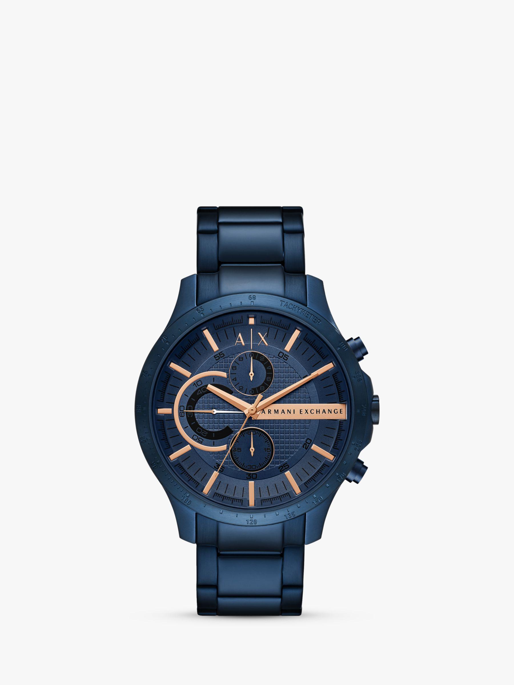 Armani Exchange Armani Exchange Men's Chronograph Date Bracelet Strap Watch