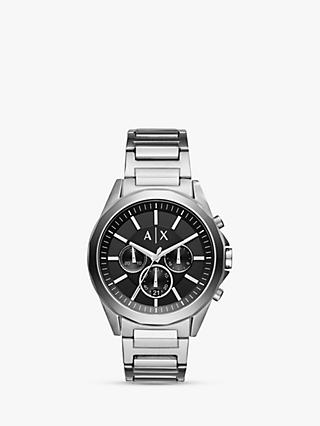 Armani Exchange Men's Chronograph Date Bracelet Strap Watch