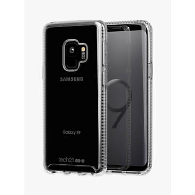 Image of tech21 Pure Clear Case for Samsung Galaxy S9, Clear