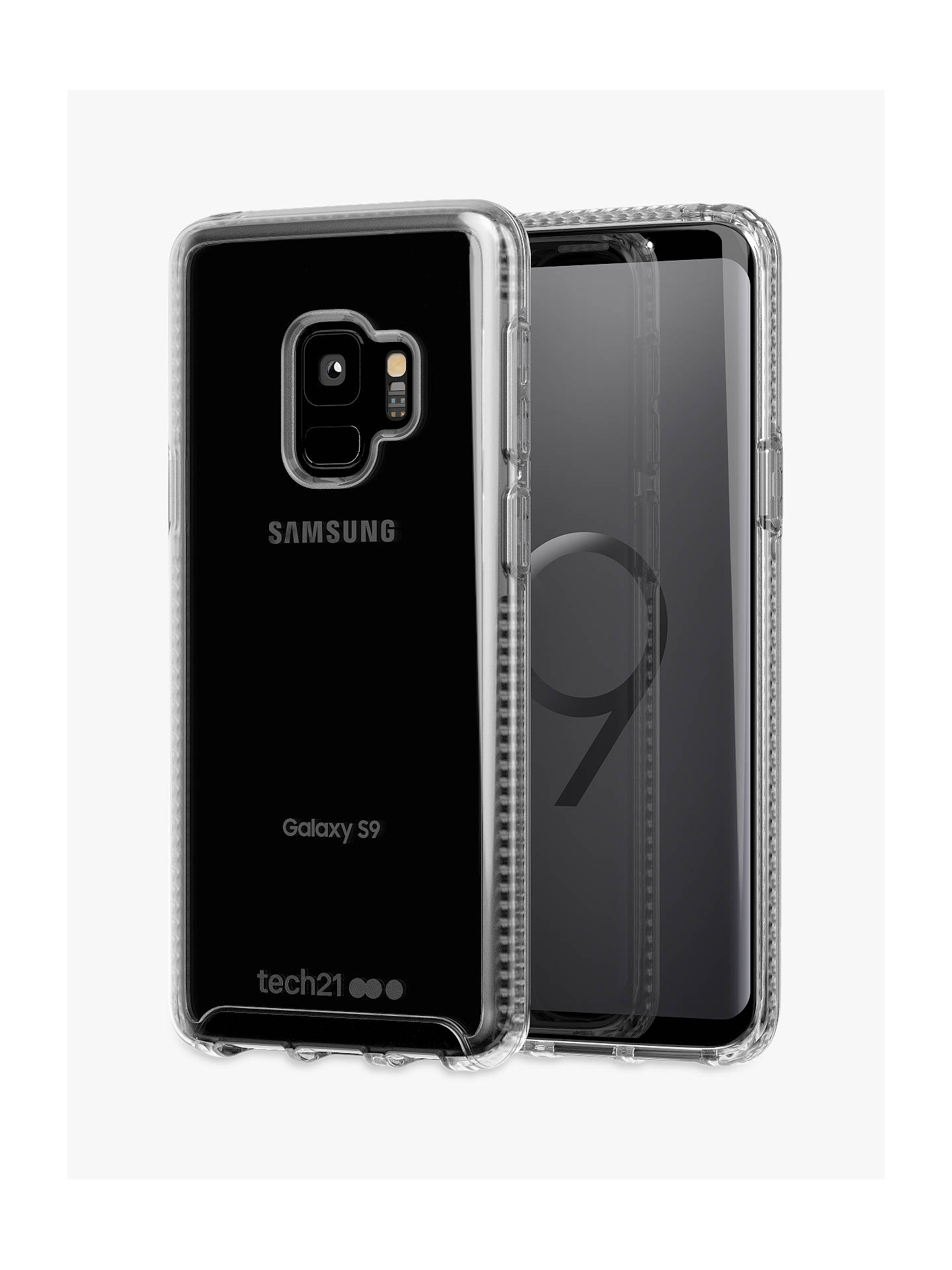buy popular fc95c 01603 tech21 Pure Clear Case for Samsung Galaxy S9, Clear