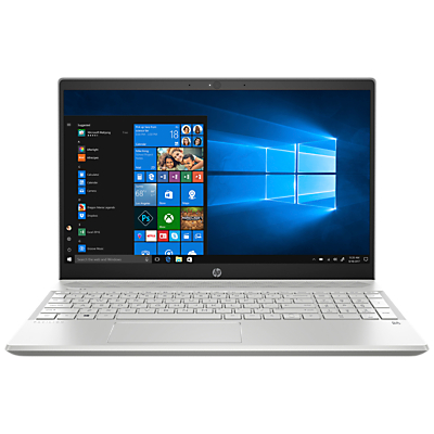"Image of HP Pavilion 15-cs0021na Laptop, Intel Core i3, 8GB RAM, 128GB SSD, 15.6"", Silver"
