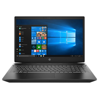 "Image of HP Pavilion 15-cx0999na Gaming Laptop, Intel Core i5, 8GB RAM, 1TB HDD + 16GB Intel Optane Memory, NVIDIA GeForce GTX 1050, 15.6"", Full HD, Shadow Black"