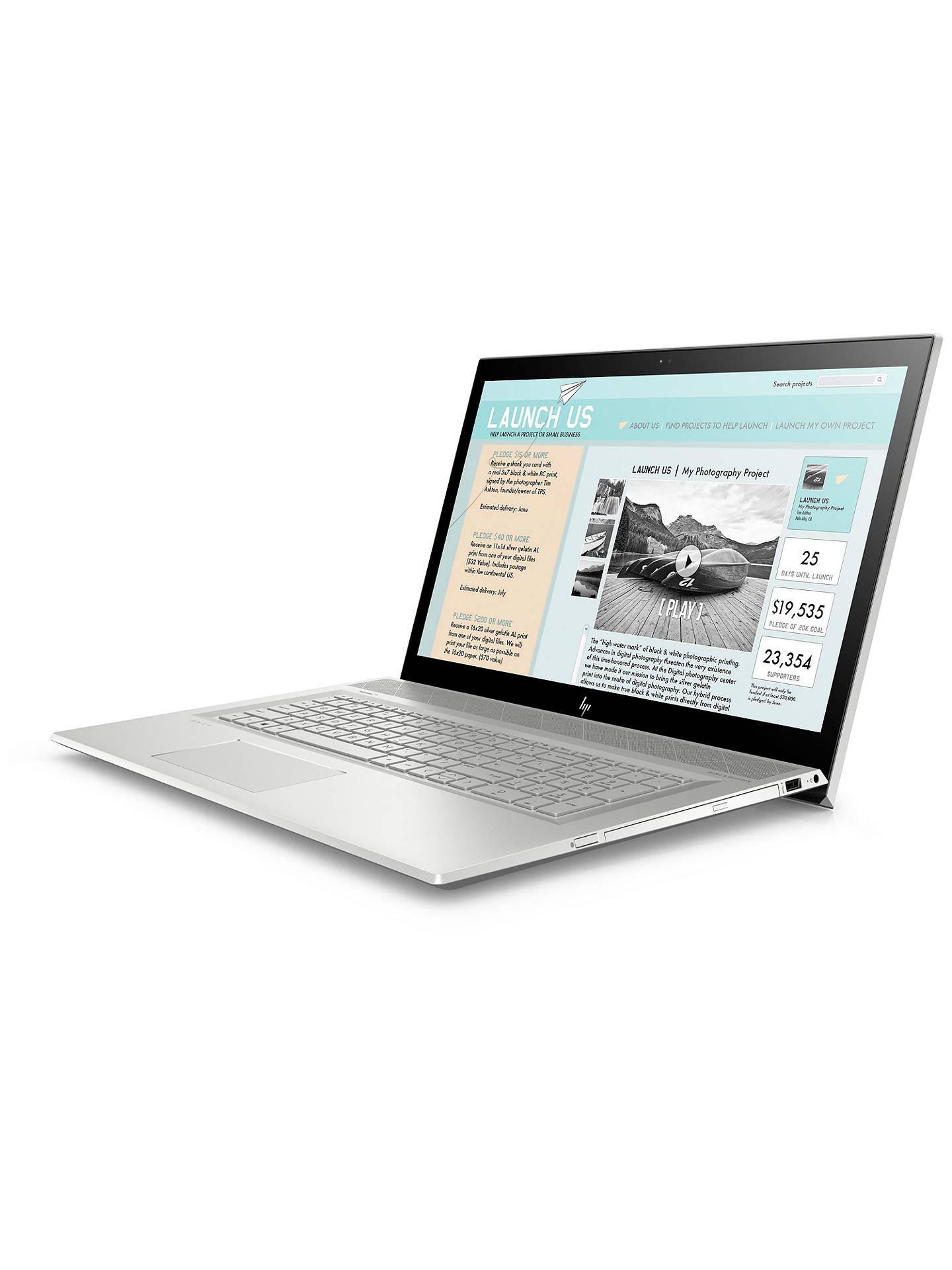 HP ENVY 17-bw0999na Laptop, Intel Core i7, 8GB RAM, 1TB HDD + 16GB Intel  Optane Memory, 17 3