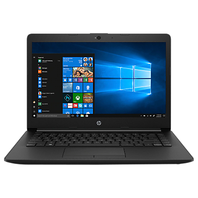 "HP 14-cm0002na Laptop, AMD Ryzen 3, 4GB RAM, 128GB SSD, 14"" Full HD, Black"