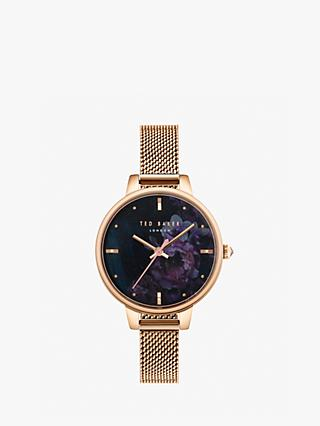 Ted Baker Women's Kate Mesh Bracelet Strap Watch