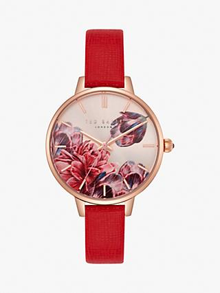 Ted Baker Women's Kate Leather Strap Watch