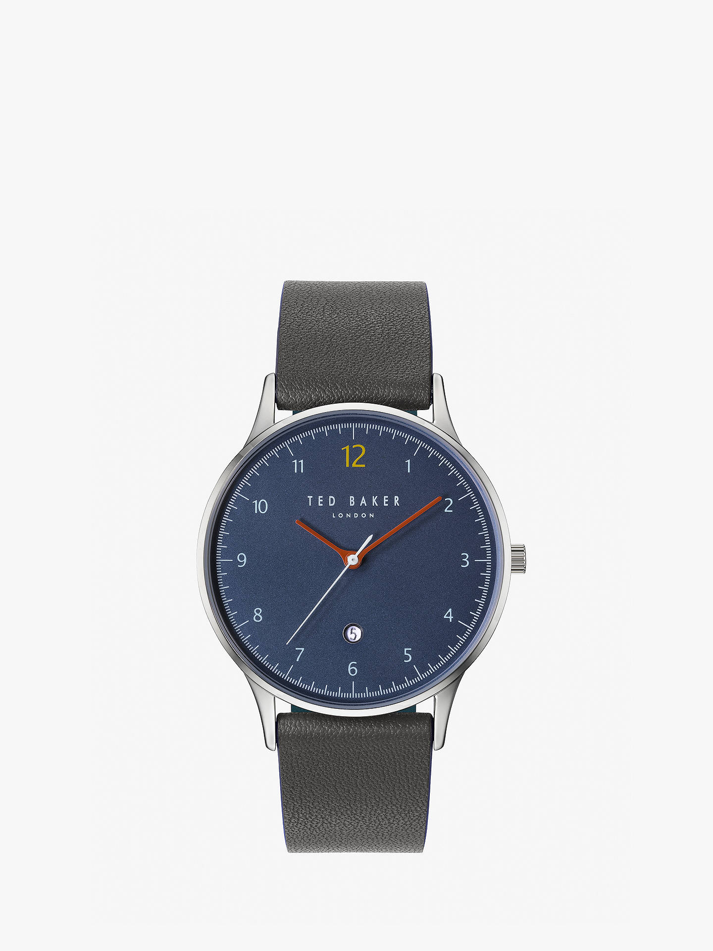 7f108c8cf Buy Ted Baker TE50519001 Men s Ethan Date Leather Strap Watch