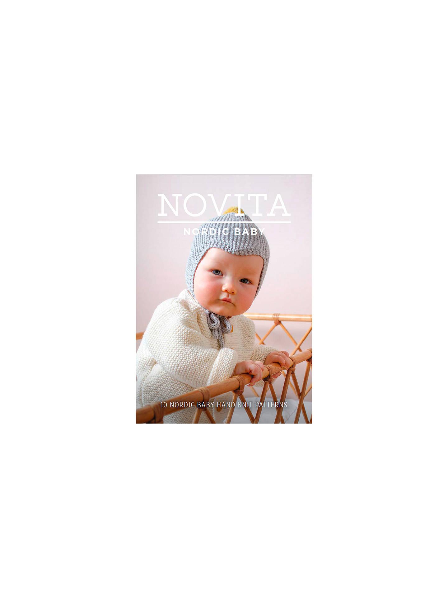 Novita Nordic Baby Knitting Pattern Booklet at John Lewis & Partners