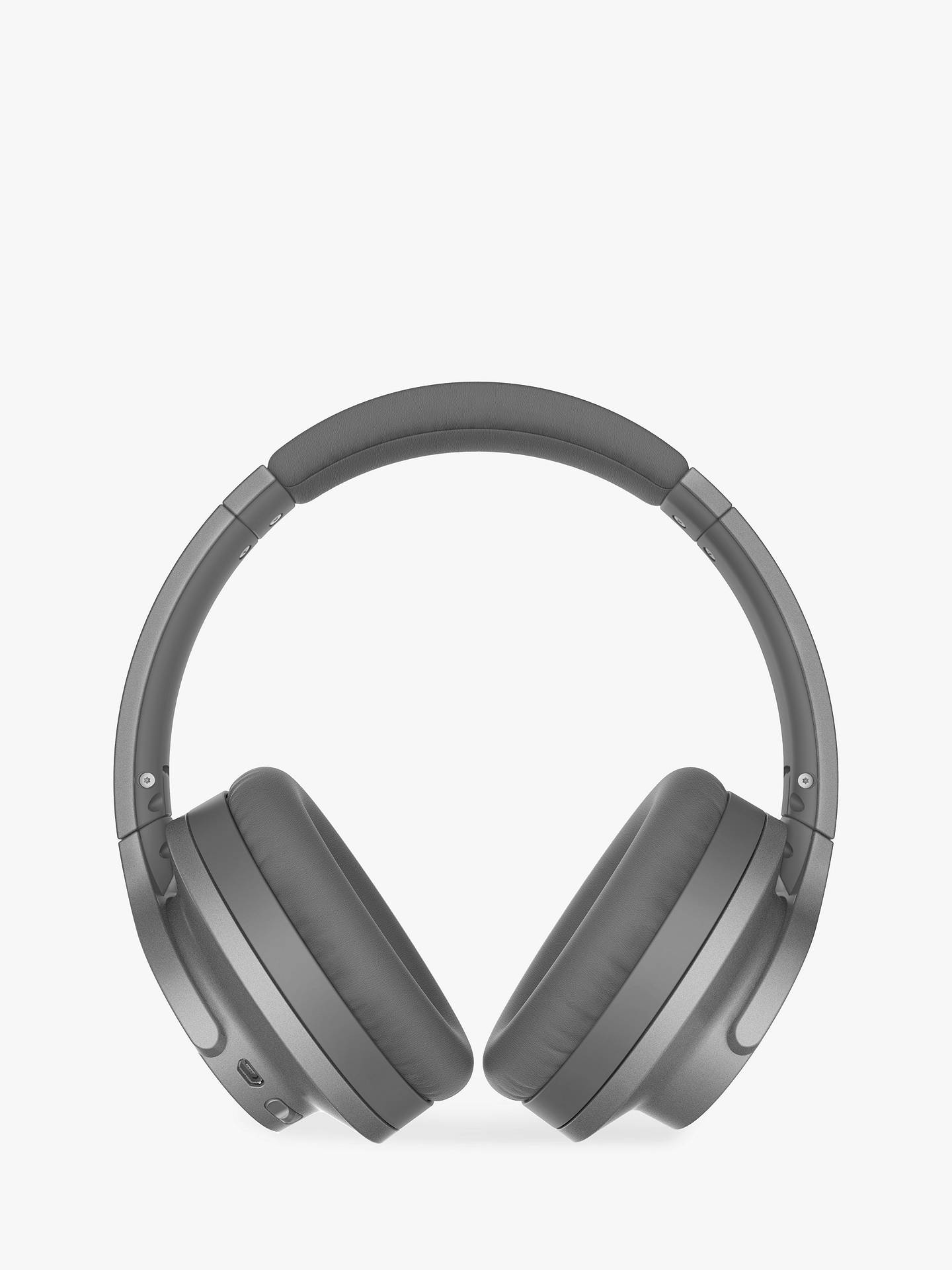 Buy Audio-Technica ATH-ANC700BT Active Noise-Cancelling Wireless Bluetooth Over-Ear Headphones, Grey Online at johnlewis.com