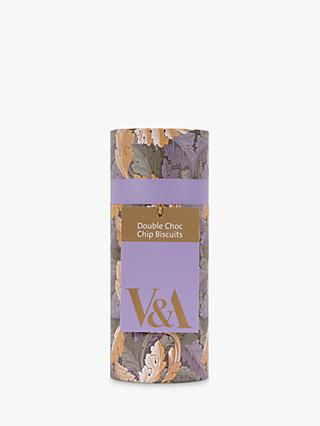 V&A Double Choc Biscuits, 100g