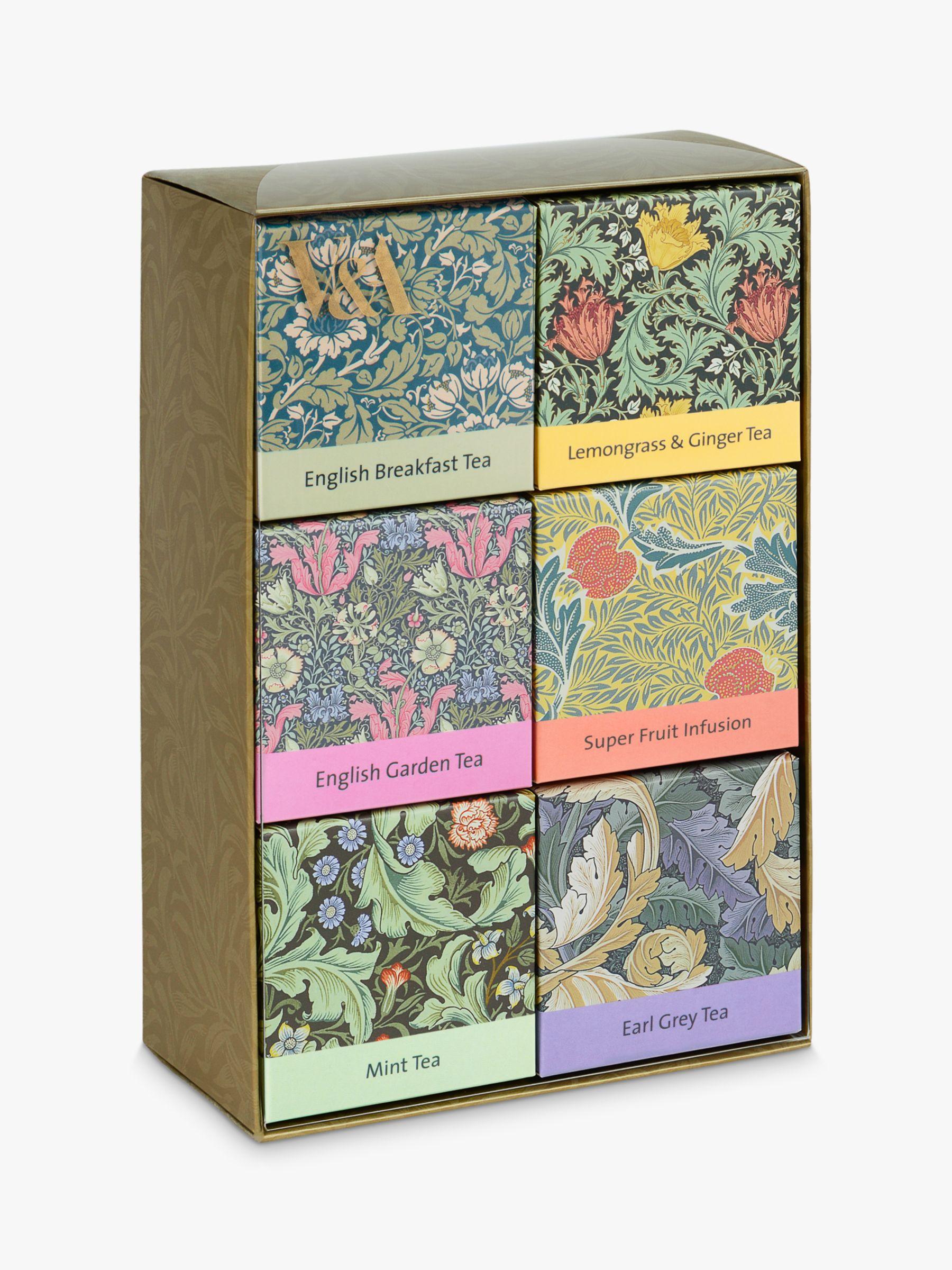 V&A V&A Tea Selection, Pack of 6, 36g