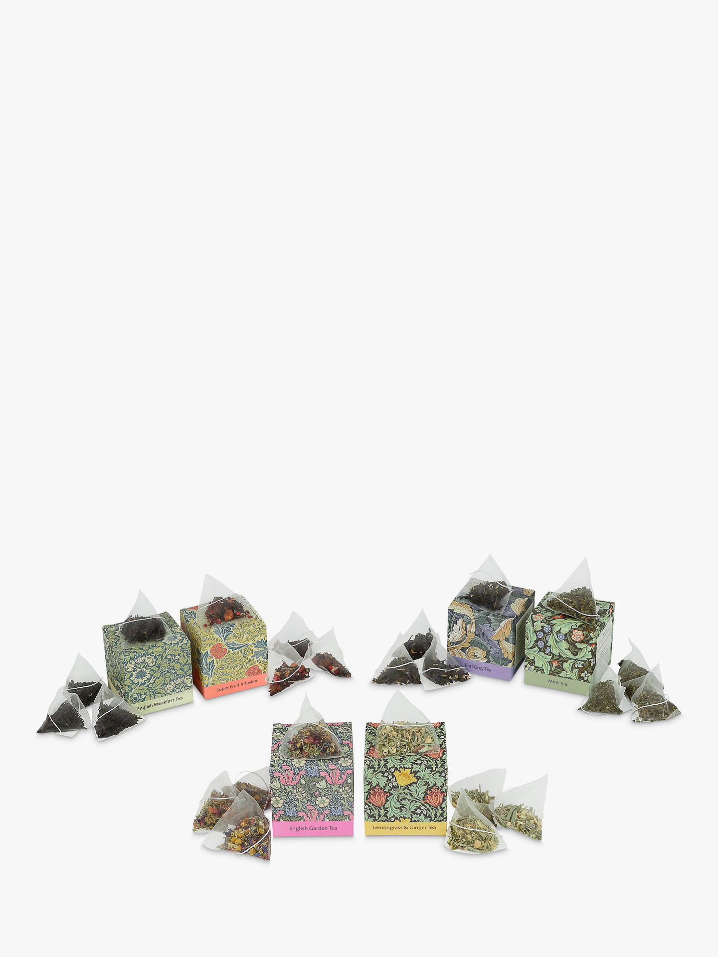 BuyV&A Tea Selection, Pack of 6, 36g Online at johnlewis.com