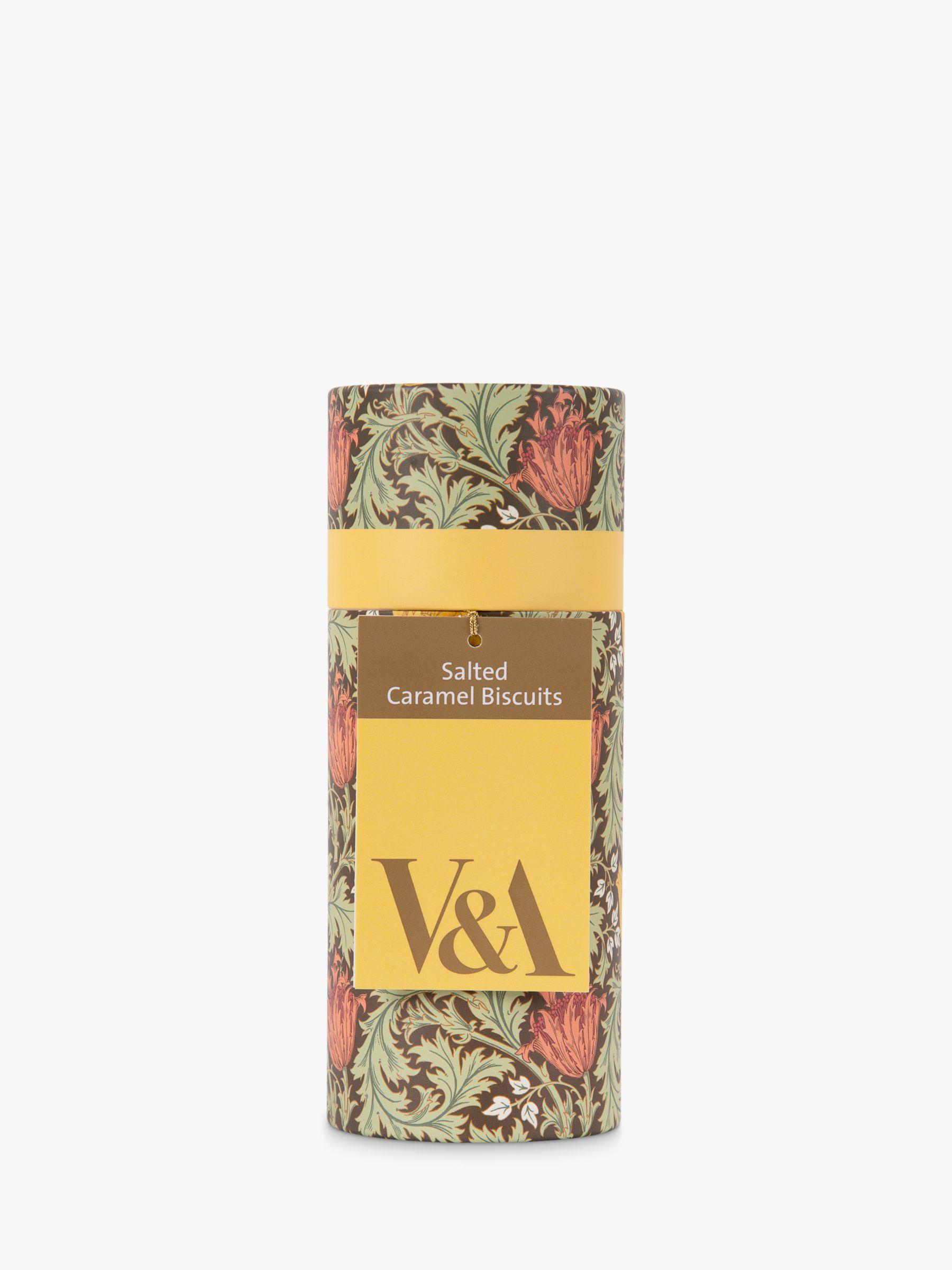 V&A V&A Salted Caramel Biscuits, 100g