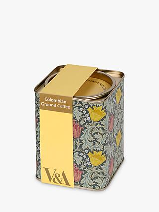 V&A Ground Coffee, 125g