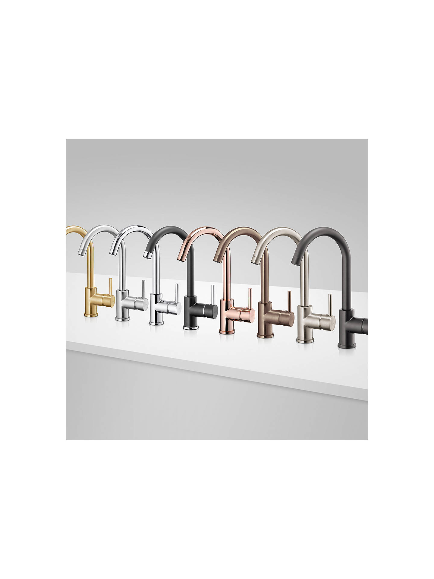 BuyBlanco Envoy Single Lever Monobloc Mixer Kitchen Tap, Chrome Online at johnlewis.com
