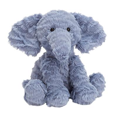 Image of Jellycat Fuddlewuddle Elephant Baby Soft Toy, Small