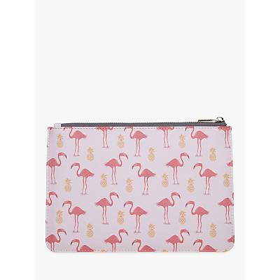 Fenella Smith Flamingo & Pineapple Clutch