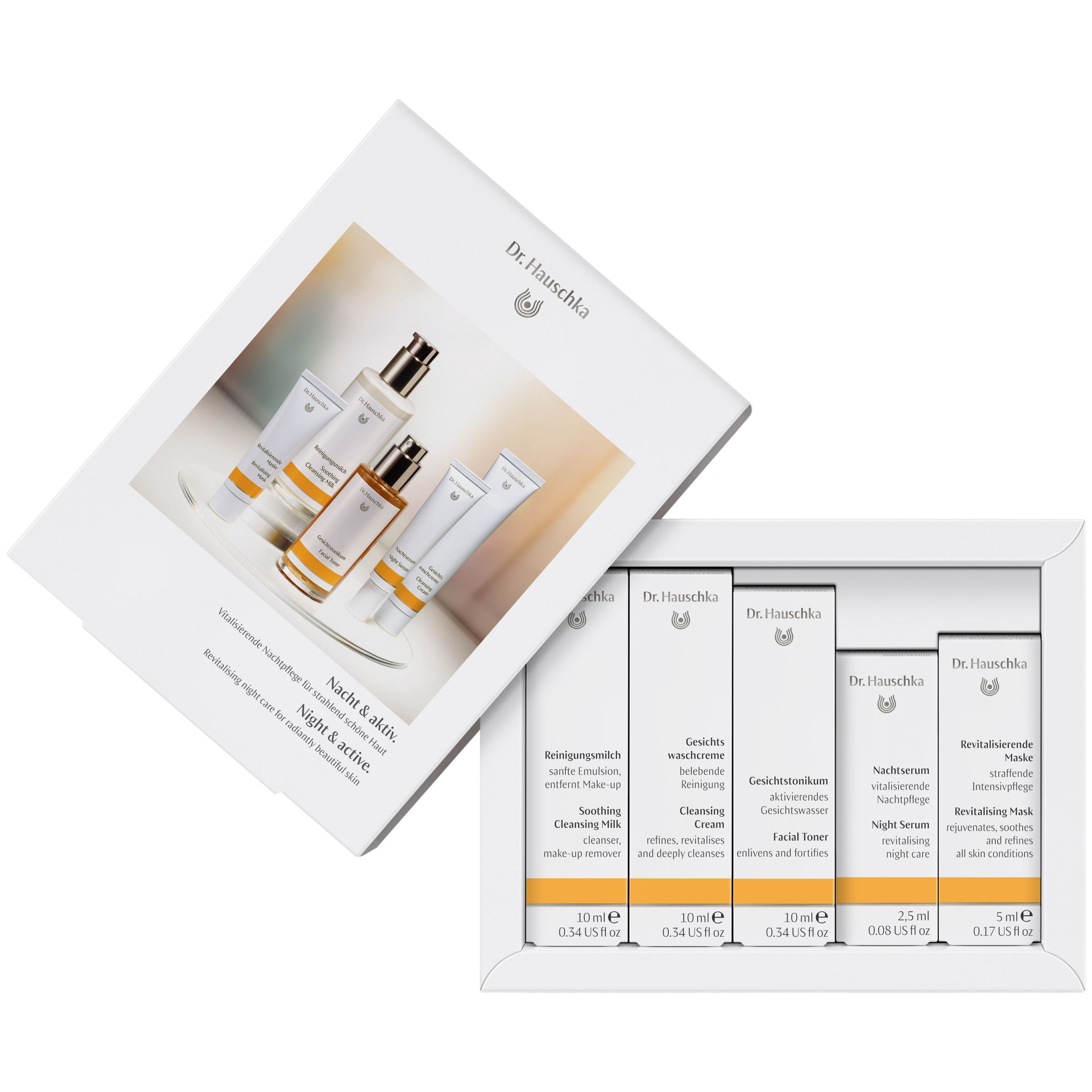 Dr Hauschka Dr Hauschka Night & Active Collection Gift Set