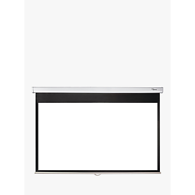 Image of Optoma DS-9092PWC Pull Down Projector Screen, 16:9 Aspect Ratio, 92 Diagonal
