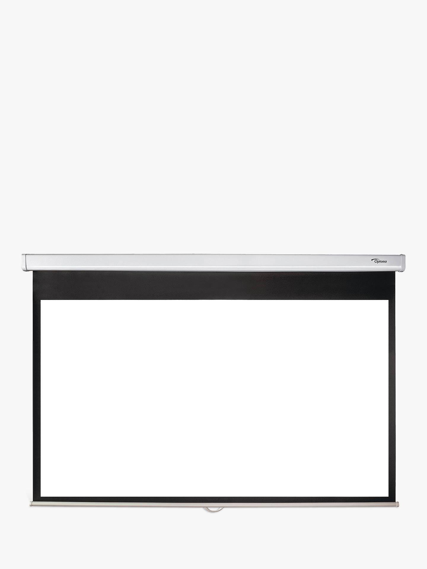BuyOptoma DS 9092PWC 169 92 Diagonal Pull Down Projector Screen