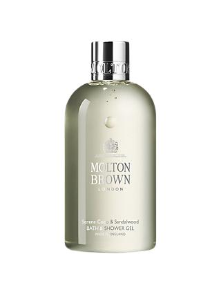 Molton Brown Serene Coco & Sandalwood Bath & Shower Gel, 300ml