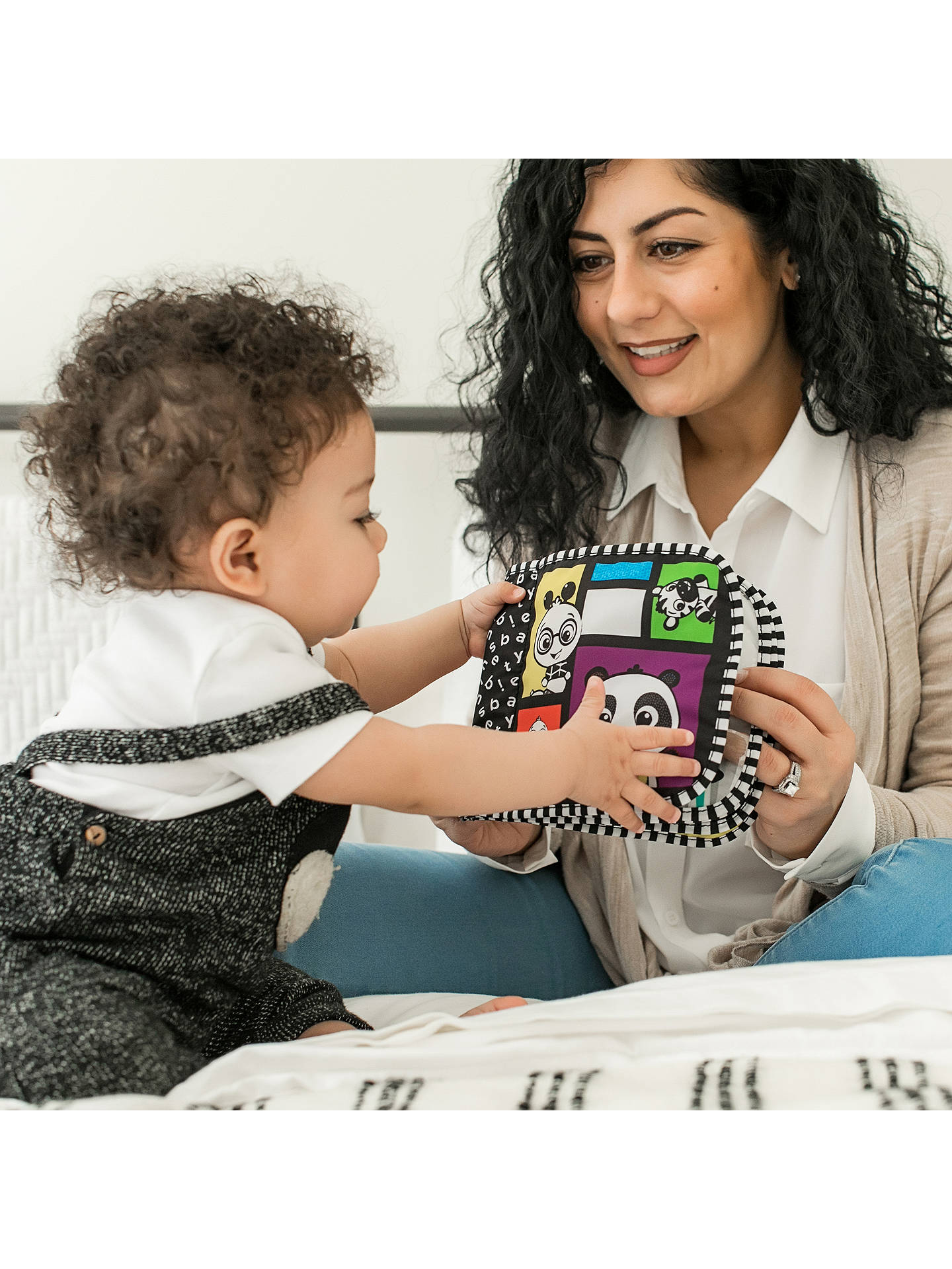 Buy Baby Einstein Magic High Contrast Book Hanging Toy Online at johnlewis.com