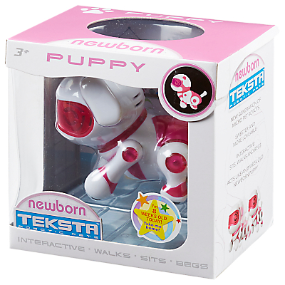 Image of Teksta Robotic Pets Newborn Puppy