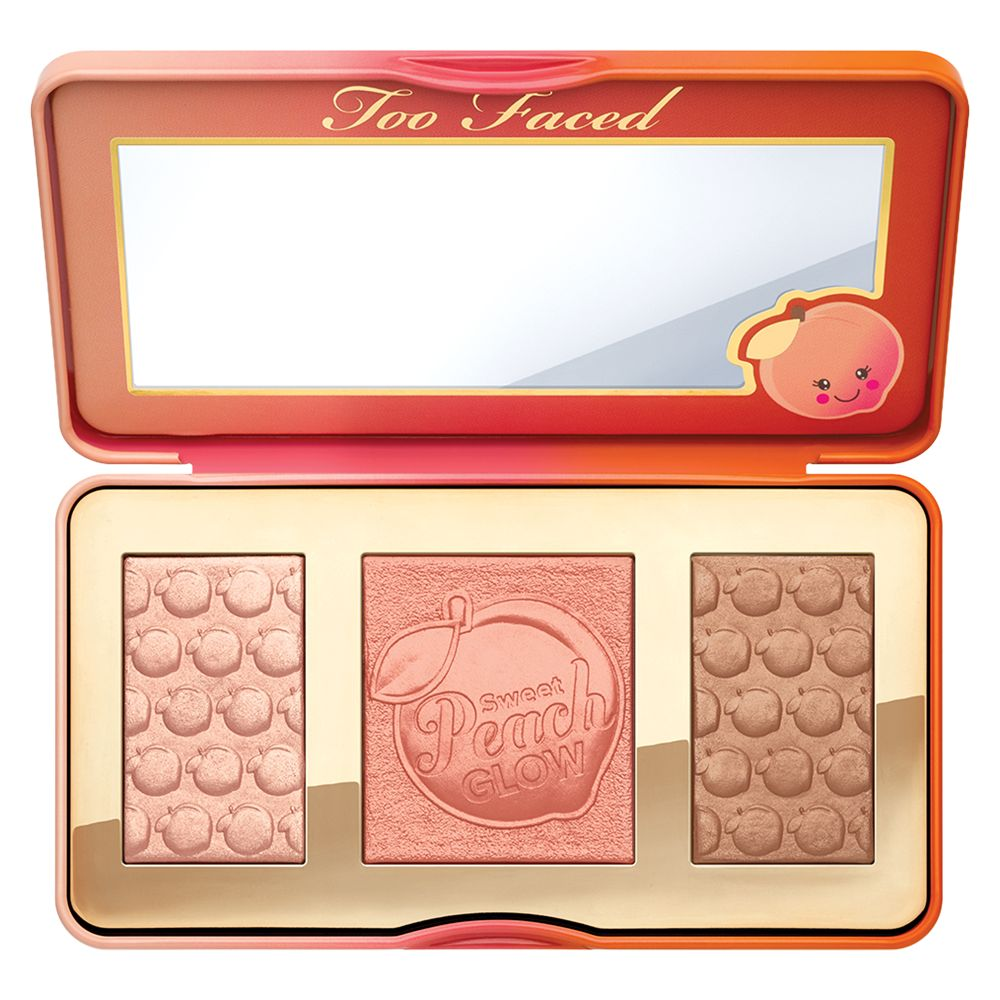 Too Faced Too Faced Sweet Peach Glow Highlighting Palette, Multi