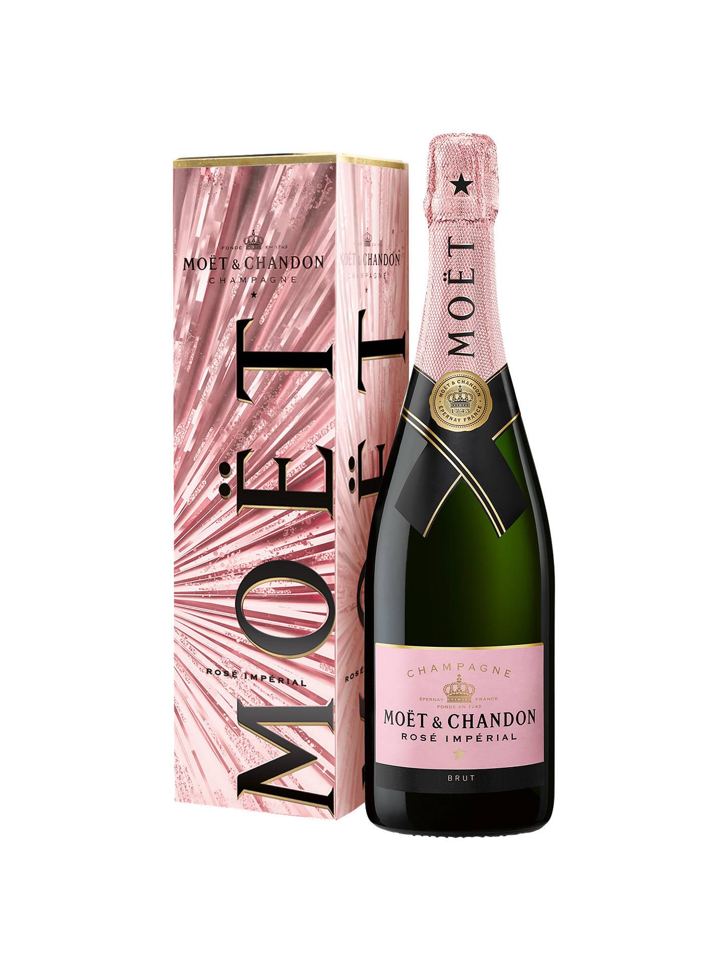 Moët & Chandon Rose Imperial Festive Box Brut Champagne, 75cl