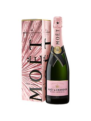 Moët & Chandon Rose Imperial Festive Box Brut Champagne, 75cl
