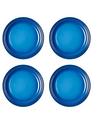 Le Creuset Stoneware Dinner Plates, 27.2cm, Set of 4