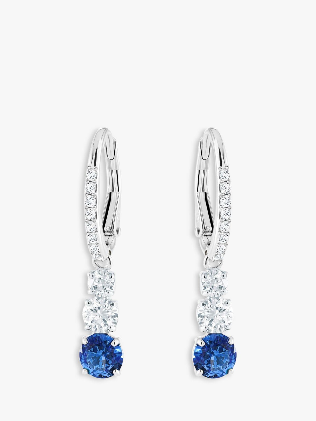 Swarovski Swarovski Attract Crystal Drop Hook Earrings