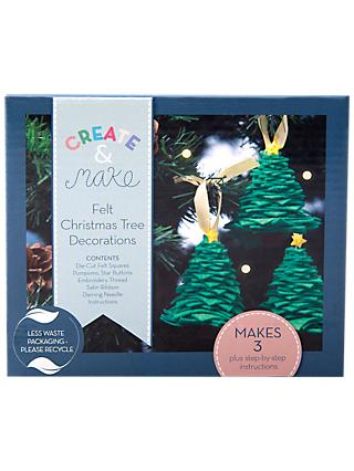 my life handmade make your own christmas tree decoration craft kit