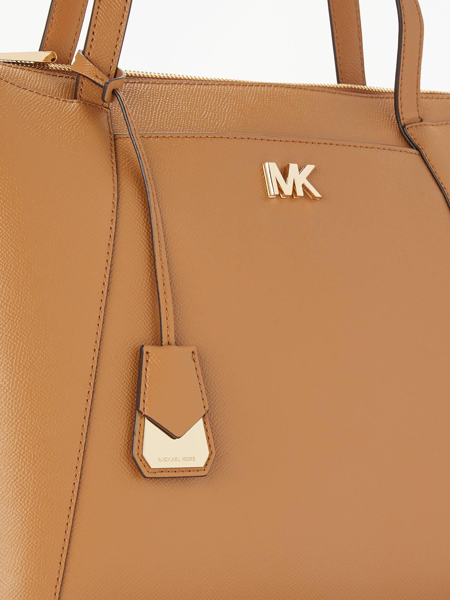 fde18648a539 ... Buy MICHAEL Michael Kors Maddie East West Medium Leather Tote Bag