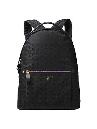 Michael Kors Kesley Large Backpack Black
