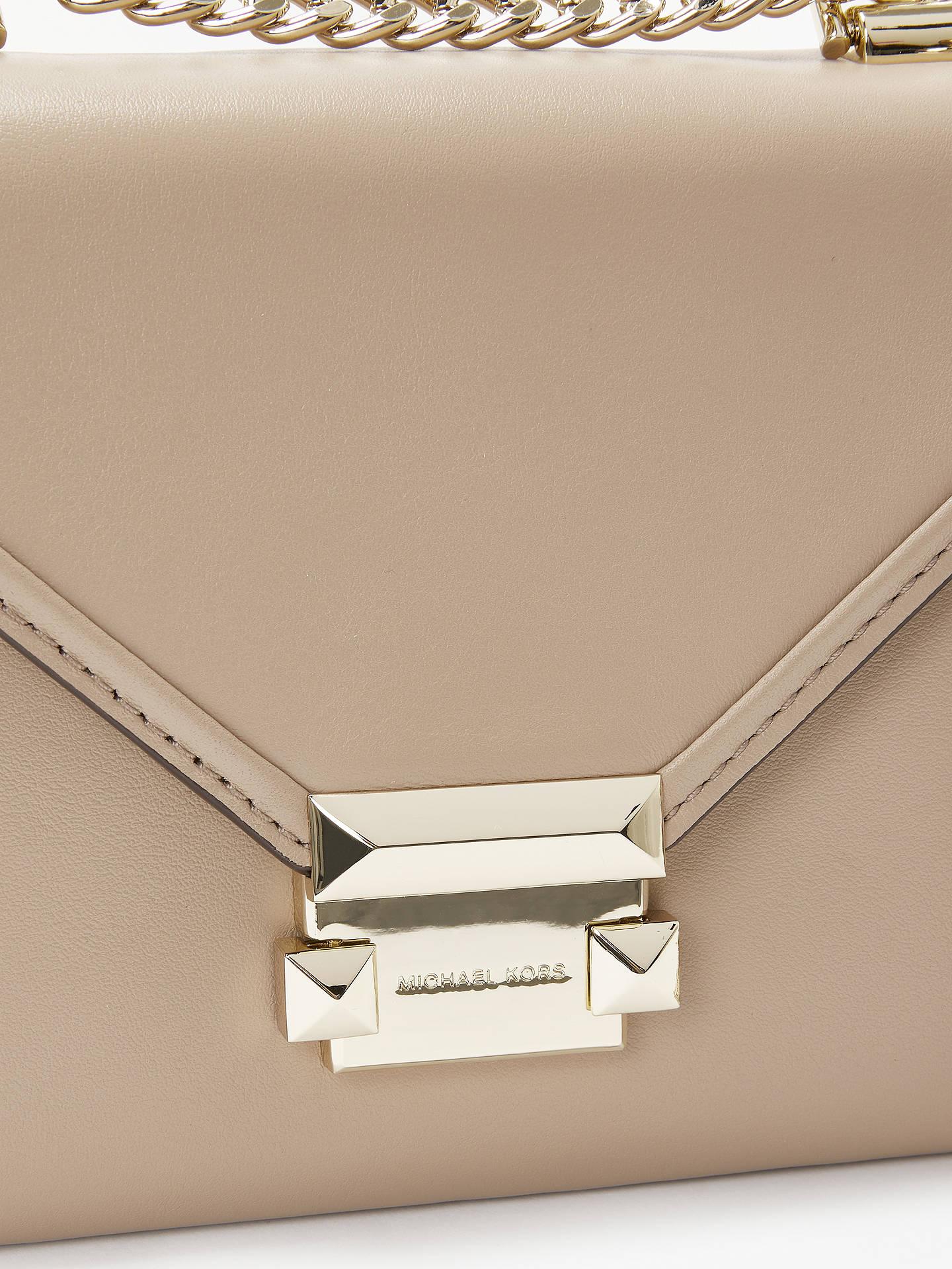 5aab9faa9c ... Buy MICHAEL Michael Kors Whitney Small Leather Shoulder Bag