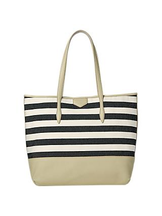 L.K.Bennett Peggy Canvas Tote Bag