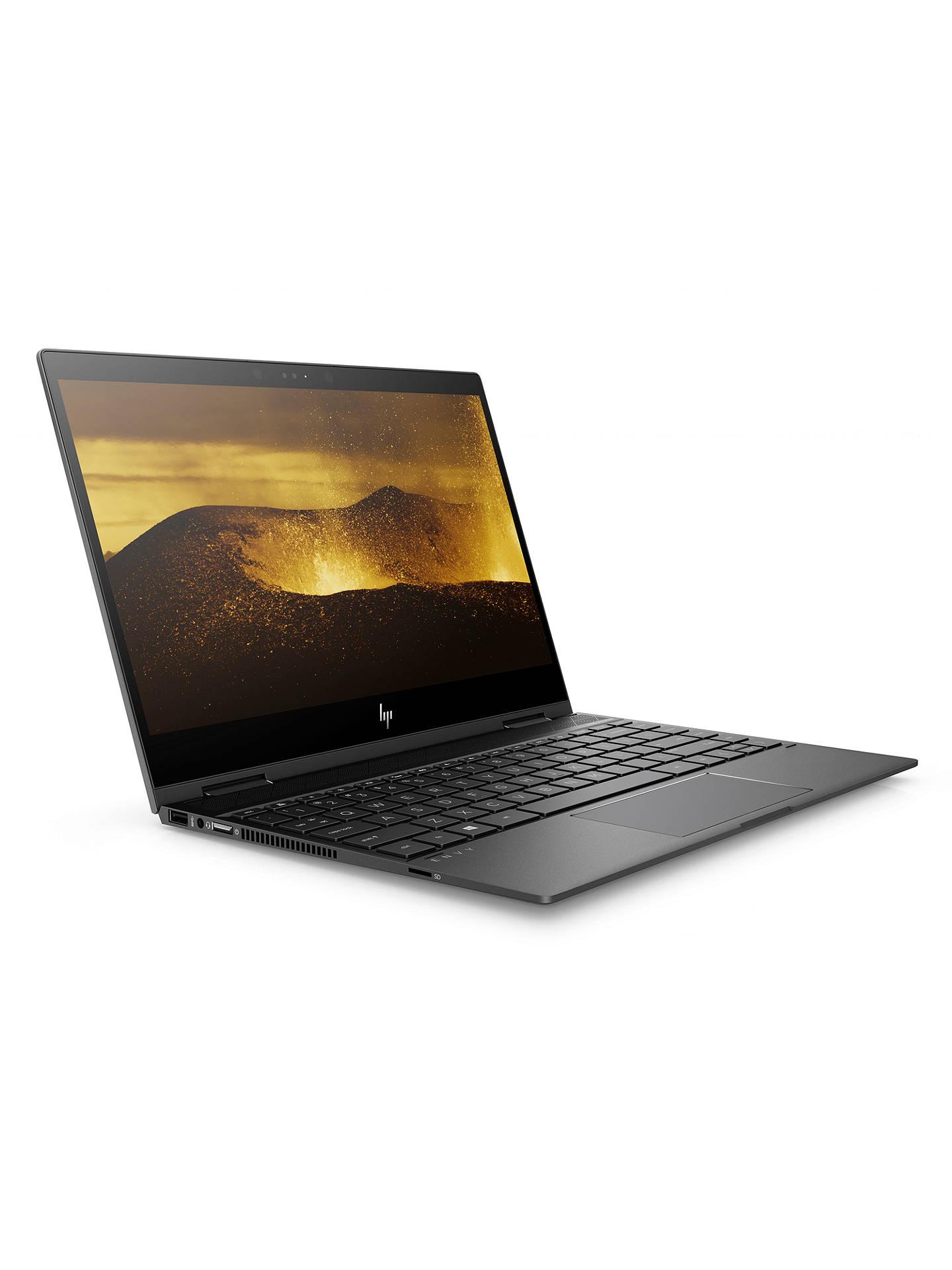 "HP ENVY x360 13-ag0999na Convertible Laptop, AMD Ryzen 5, 8GB RAM, 256GB  NVMe SSD, 13 3"" Full HD Touchscreen, Dark Ash"