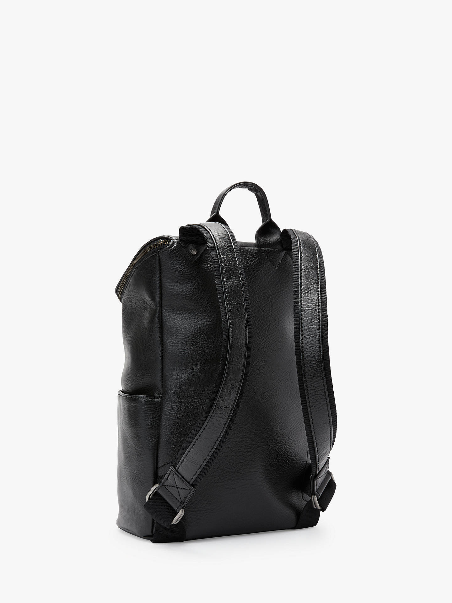 BuyMatt & Nat Dwell Collection Brave Vegan Backpack, Black Online at johnlewis.com
