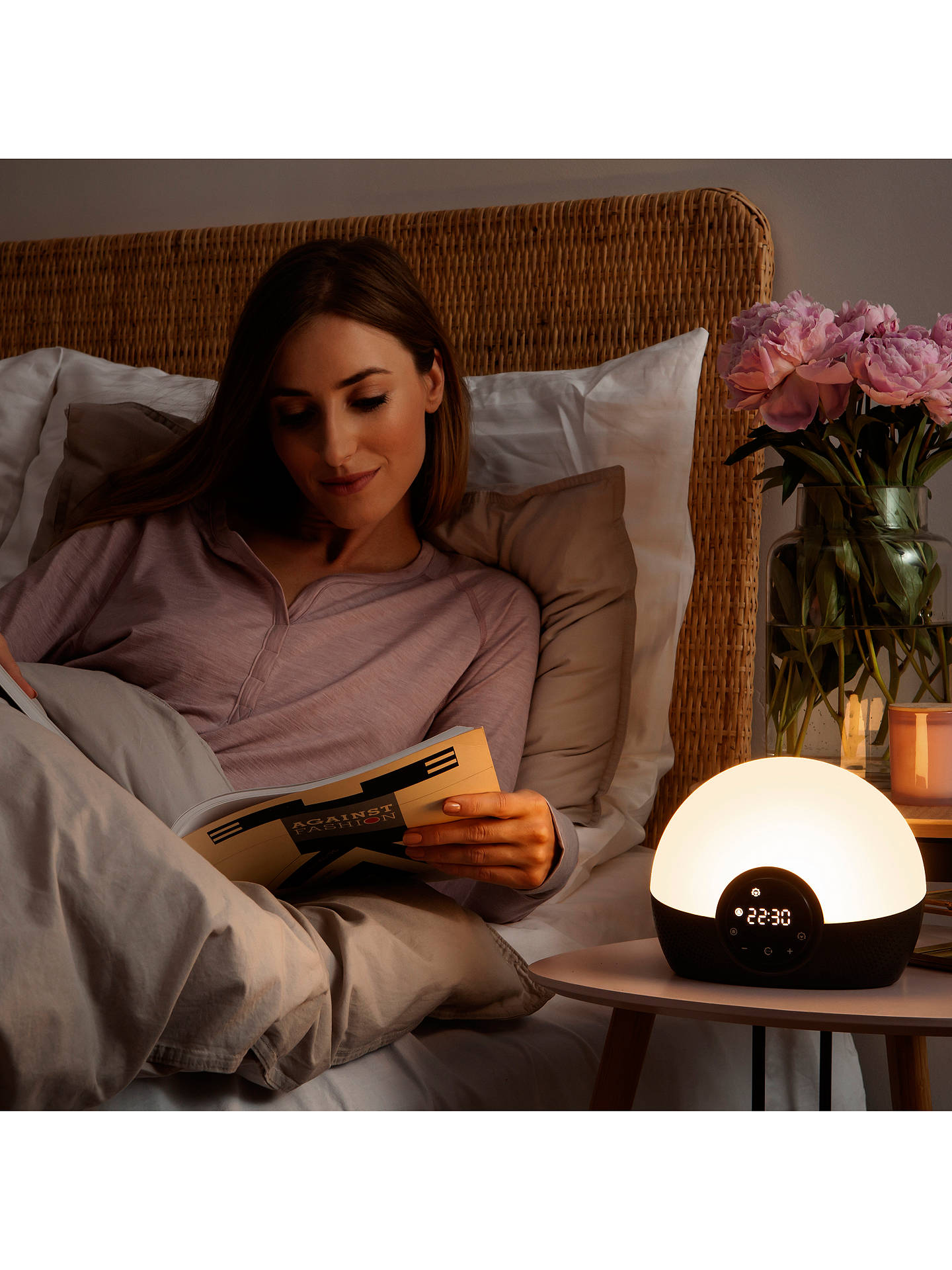 Buy Lumie Bodyclock Glow 150 Wake up to Daylight SAD Light Online at johnlewis.com