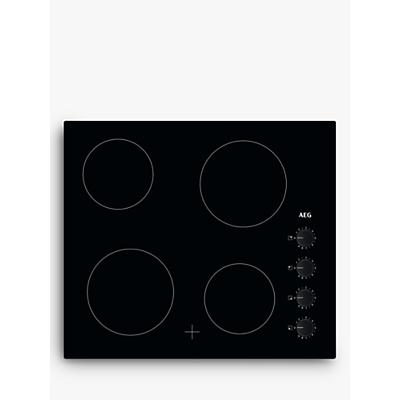 AEG HK614000CB Electric Hob, Black