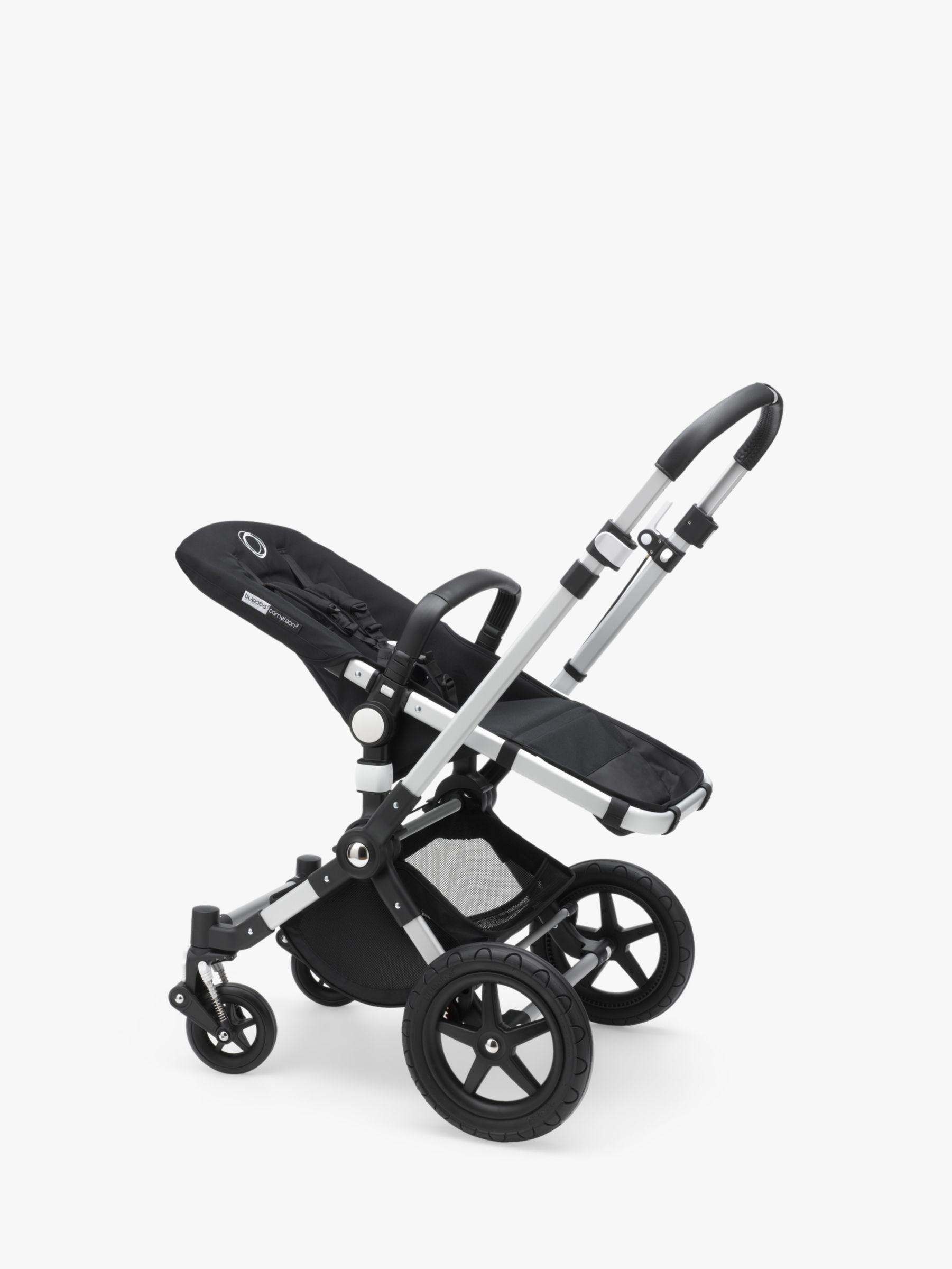 Bugaboo Bugaboo Cameleon3 Plus Pushchair Base Unit and Carrycot Base Aluminium/Black