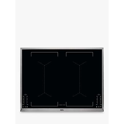 Image of AEG IKE74451XB 69.6cm MaxiSense Induction Hob, Black