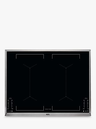 AEG IKE74451XB 69.6cm MaxiSense Induction Hob, Black