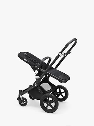 Bugaboo Cameleon3 Plus Pushchair Base Unit and Carrycot Base Black/Black
