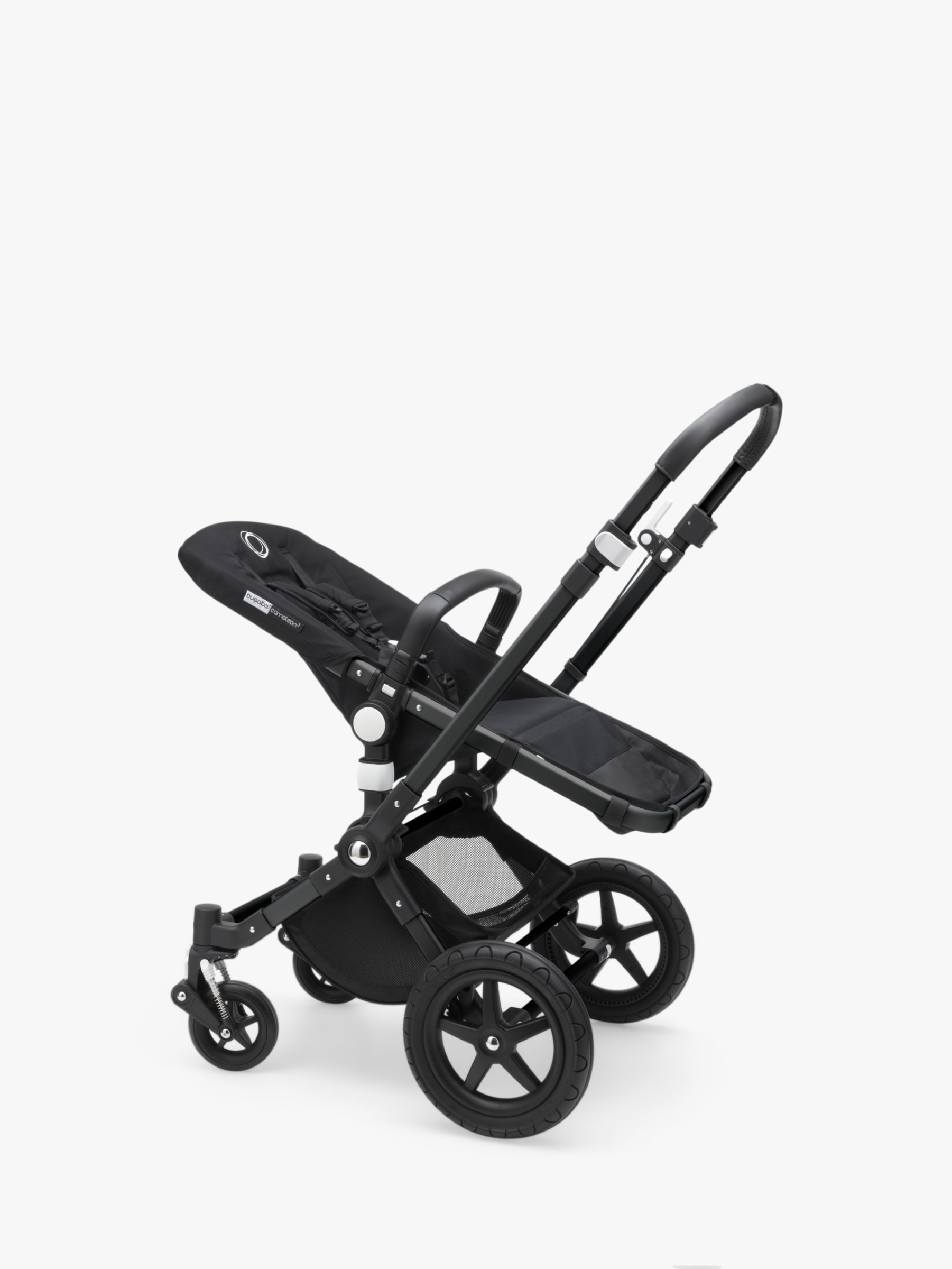 Bugaboo Bugaboo Cameleon3 Plus Pushchair Base Unit and Carrycot Base Black/Black