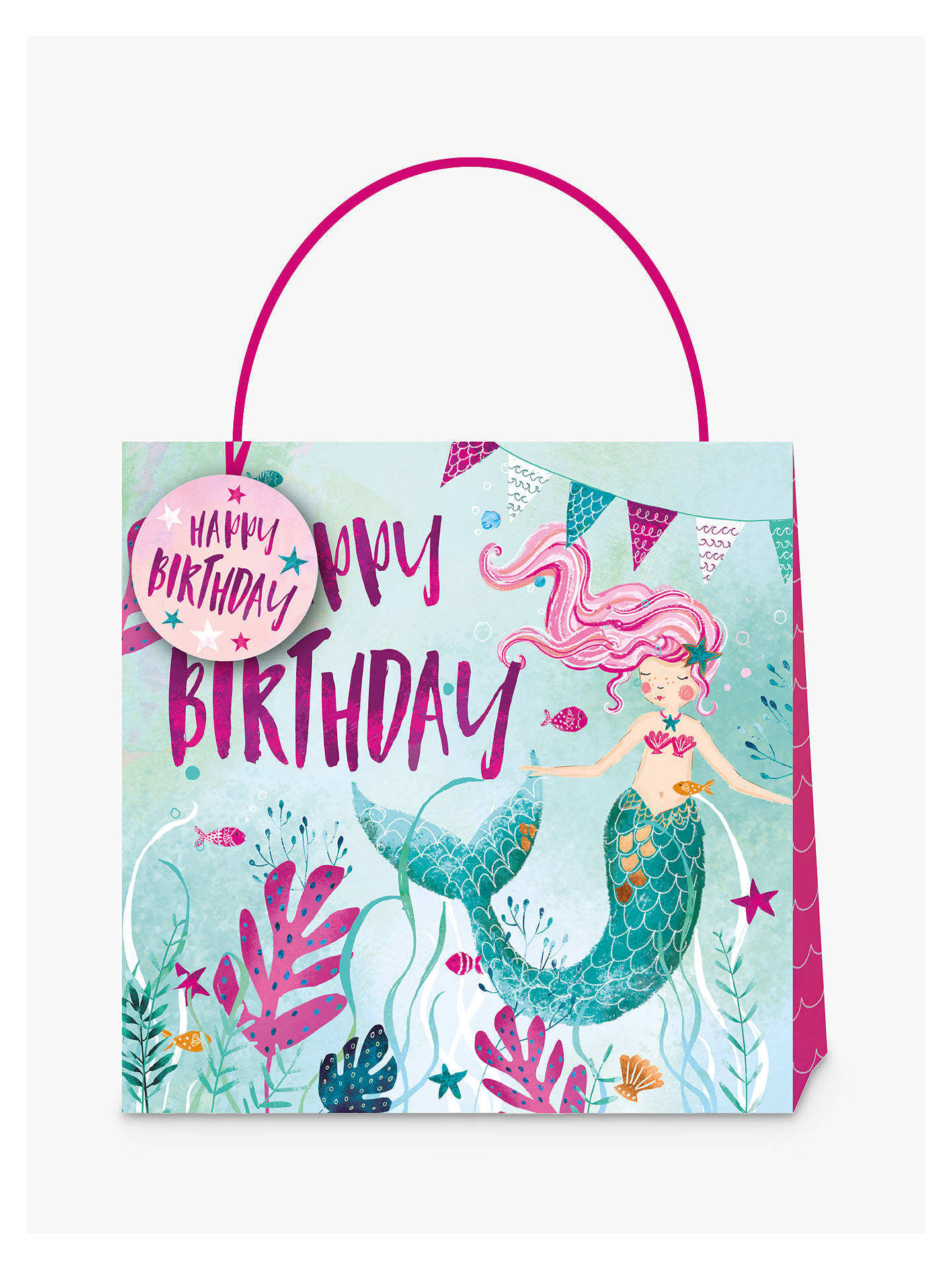 Buy Ling Design Mermaid Gift Bag Large Online At Johnlewis