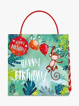 Jack Lily Monkey Gift Bag Medium