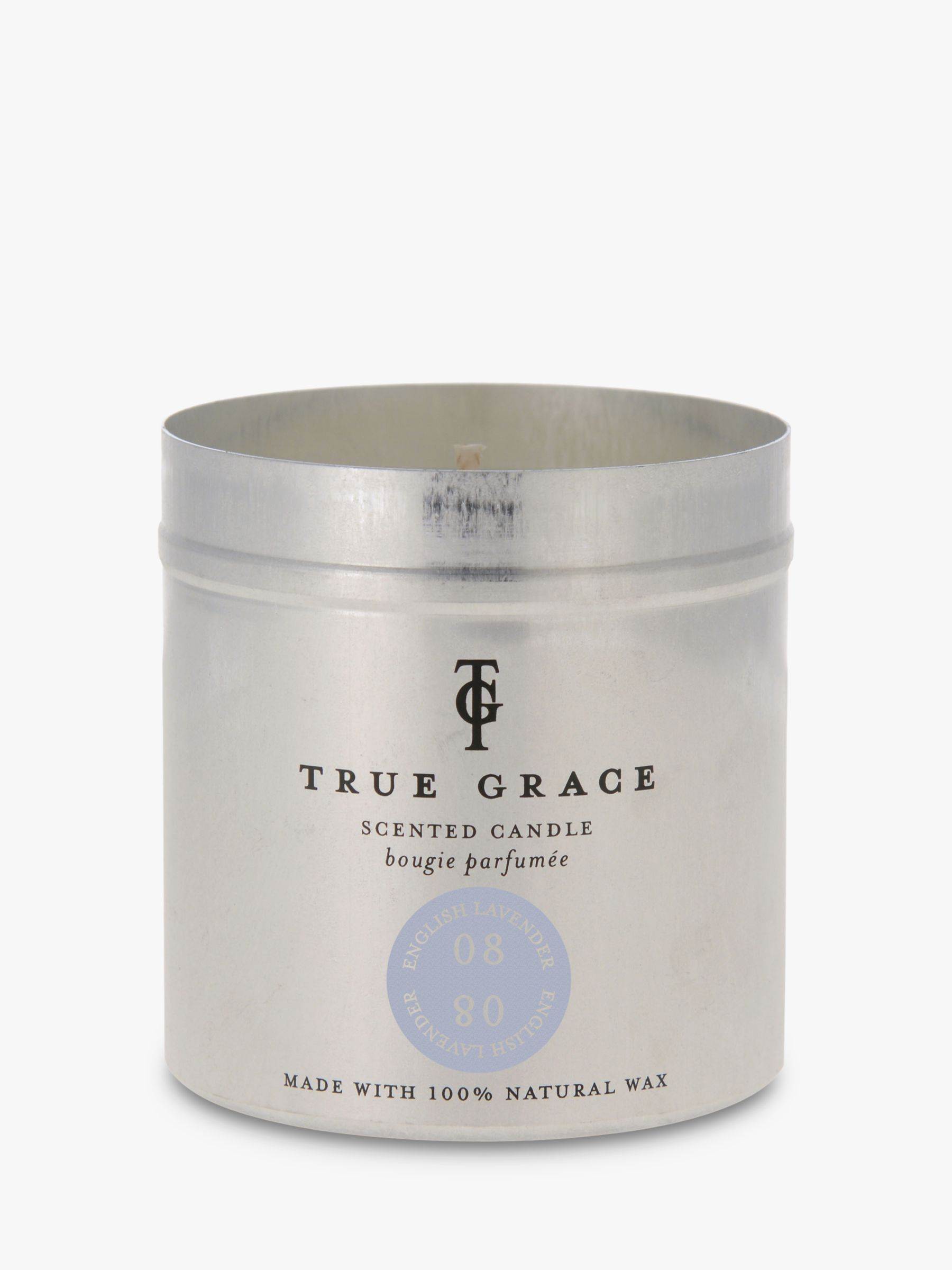 True Grace True Grace Lavender Scented Tin Candle, 290g