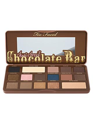 Too Faced Semi-Sweet Chocolate Bar Eyeshadow Palette, Multi